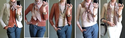 Варианты ношения платка от MaiTai