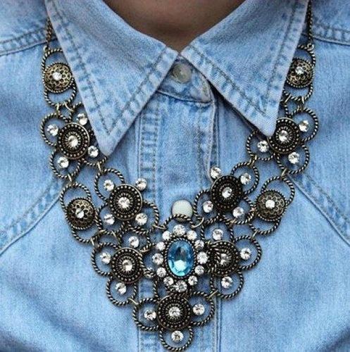 Крупное ожерелье своими руками