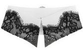 воротничок, декорированный кружевом по краю, из коллекции Karl SS2012 by Karl Lagerfeld