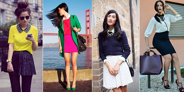 накладные воротнички на фото street-fashion