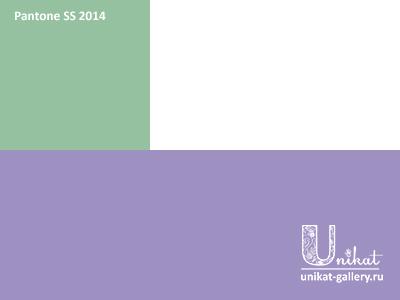 цветовое сочетание на основе сиреневого Violet Tulip