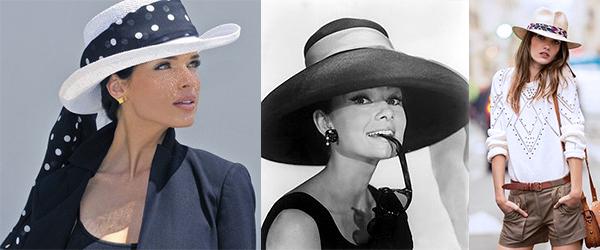 как носить платок на шляпе