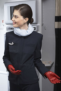 шейный платок в форме стюардесс Air France