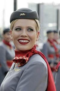 шейные платки стюардесс Ethiad Air