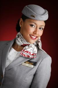 форма стюардесс Ethiad Airlines