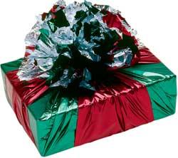 упаковка подарка в технике фурошики