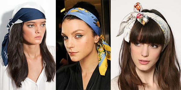 летом платок носят на голове