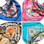 платки и палантины, представленные в Unikat
