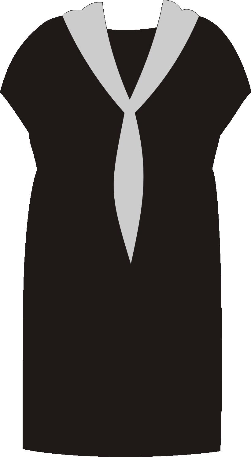 платок, повязанный как галстук, стройнит