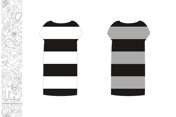 темные полоски в одежде больше стройнят, чем светлые